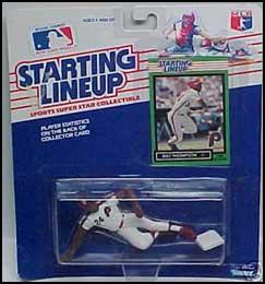 Milt Thompson 1989 Baseball SLU Figure