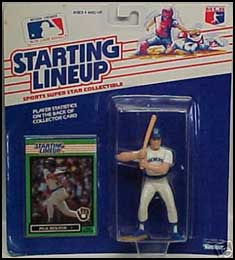 1989 Baseball Paul Molitor Starting Lineup Picture