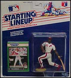 1989 Baseball Phil Bradley Starting Lineup Picture