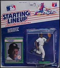 1989 Baseball Rickey Henderson Starting Lineup Picture