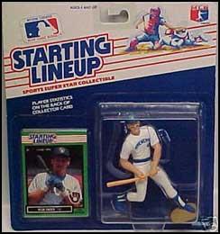 1989 Baseball Rob Deer Starting Lineup Picture