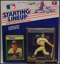 1989 Baseball Robin Yount Starting Lineup Picture