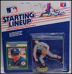 1989 Baseball Roger Clemens Starting Lineup Picture