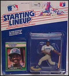 1989 Baseball Ruben Sierra Starting Lineup Picture