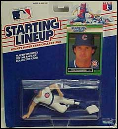 1989 Baseball Ryne Sandberg Starting Lineup Picture