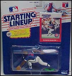 1989 Baseball Shawon Dunston Starting Lineup Picture