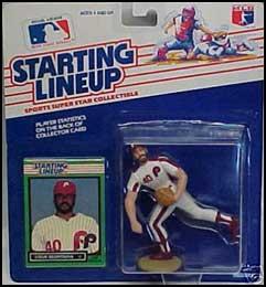 Steve Bedrosian 1989 Baseball SLU Figure