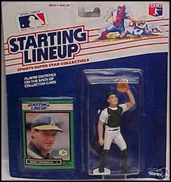 1989 Baseball Terry Steinbach Starting Lineup Picture
