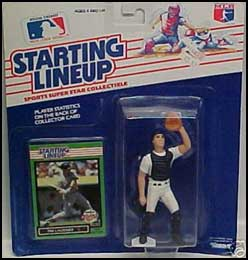 1989 Baseball Tim Laudner Starting Lineup Picture