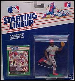 1989 Baseball Vince Coleman Starting Lineup Picture