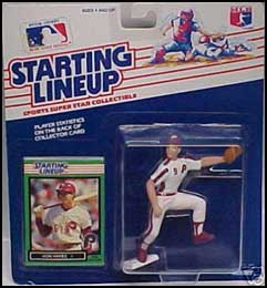 1989 Baseball Von Hayes Starting Lineup Picture