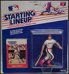1989 Baseball Wally Joyner Starting Lineup Picture