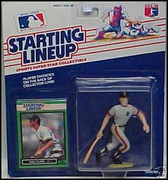 1989 Baseball Will Clark Starting Lineup Picture