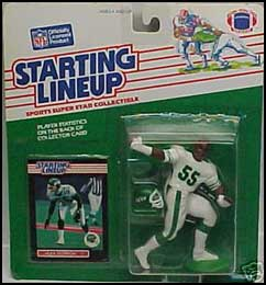 1989 Football Alex Gordon Starting Lineup Picture