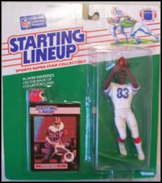 1989 Football Andre Reed Starting Lineup Picture