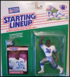 1989 Football Bennie Blades Starting Lineup Picture