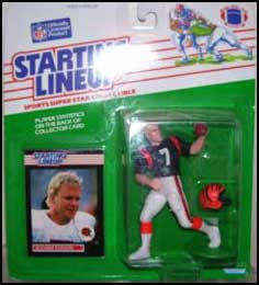 1989 Football Boomer Esiason Starting Lineup Picture