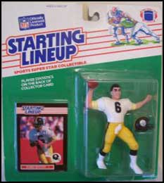 1989 Football Bubby Brister Starting Lineup Picture