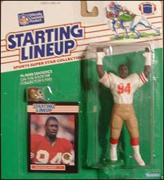 1989 Football Charles Haley Starting Lineup Picture