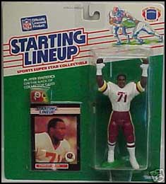 1989 Football Charles Mann Starting Lineup Picture