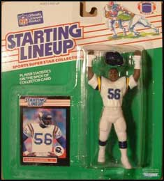 1989 Football Chris Doleman Starting Lineup Picture