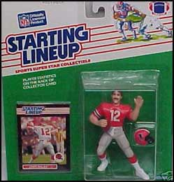 1989 Football Chris Miller Starting Lineup Picture