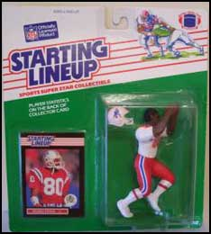 1989 Football Irving Fryar Starting Lineup Picture
