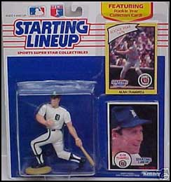 1990 Baseball Alan Trammell Starting Lineup Picture