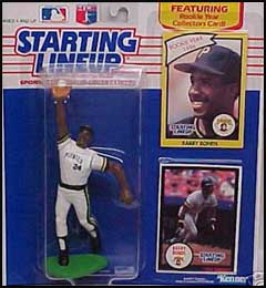 1990 Baseball Barry Bonds Starting Lineup Picture
