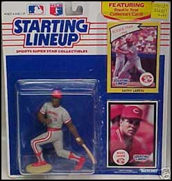 1990 Baseball Barry Larkin Starting Lineup Picture