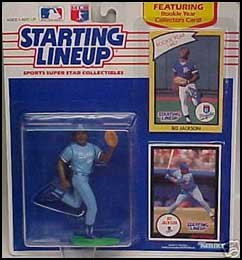 1990 Baseball Bo Jackson Starting Lineup Picture
