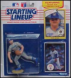 1990 Baseball Chris Bosio Starting Lineup Picture