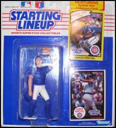 1990 Baseball Damon Berryhill Starting Lineup Picture