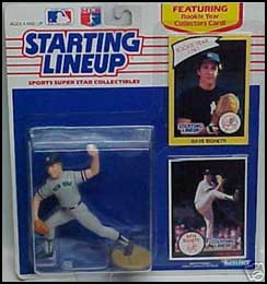 1990 Baseball Dave Righetti Starting Lineup Picture