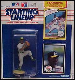 1990 Baseball Dave Stewart Starting Lineup Picture