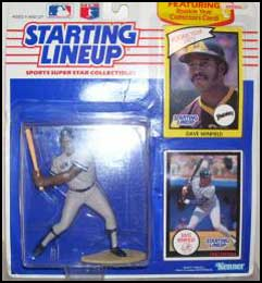 1990 Baseball Dave Winfield Starting Lineup Picture
