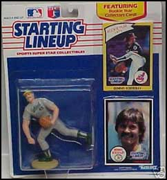 1990 Baseball Dennis Eckersley Starting Lineup Picture