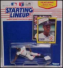 1990 Baseball Ellis Burks Starting Lineup Picture