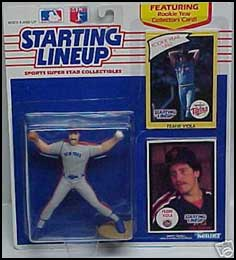 1990 Baseball Frank Viola Starting Lineup Picture
