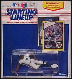 1990 Baseball Gary Pettis Starting Lineup Picture
