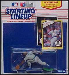 1990 Baseball Gary Sheffield Starting Lineup Picture