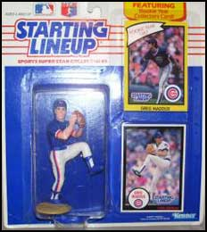 1990 Baseball Greg Maddux Starting Lineup Picture