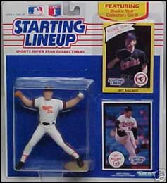 1990 Baseball Jeff Ballard Starting Lineup Picture