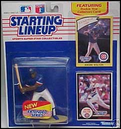 1990 Baseball Jerome Walton Starting Lineup Picture