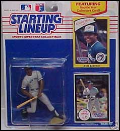 1990 Baseball Jesse Barfield Starting Lineup Picture