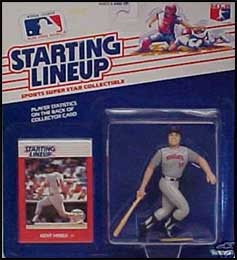 1990 Baseball Kent Hrbek Starting Lineup Picture