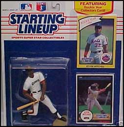 1990 Baseball Kevin Mitchell Starting Lineup Picture