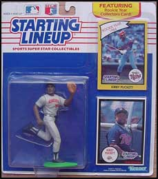 1990 Baseball Kirby Puckett Starting Lineup Picture