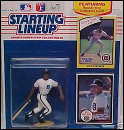 1990 Baseball Lou Whitaker Starting Lineup Picture