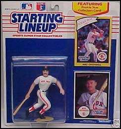 1990 Baseball Mike Greenwell Starting Lineup Picture